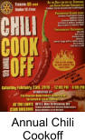 Annual Chili Cookoff